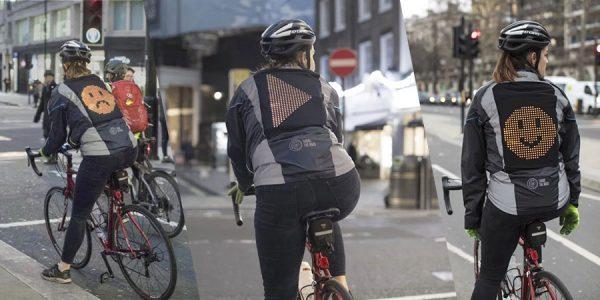 Emoji Jacket da Ford: Por ruas mais seguras para ciclistas