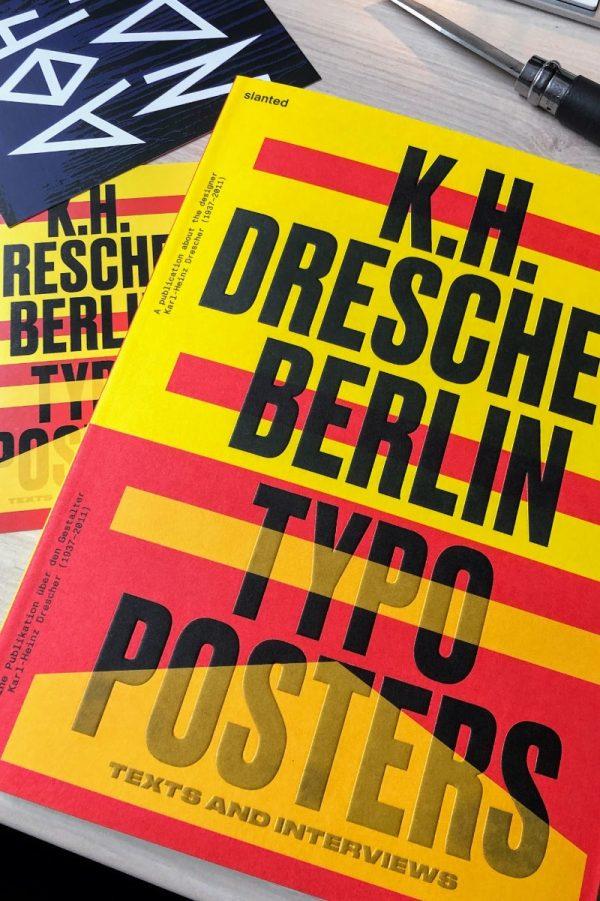 Os Posters Tipográficos de Karl-Heinz Drescher