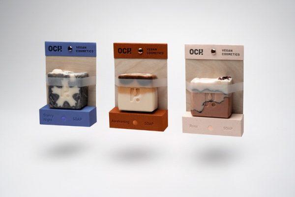 A Identidade Visual e as Embalagens da Och Vegan por Agata Bednarska