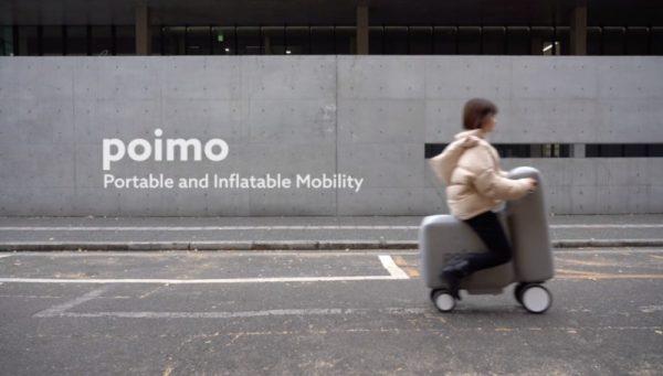 Poimo: um scooter elétrico inflável para ser usado nas cidades do mundo