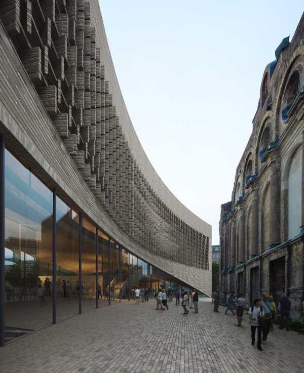 Exilmuseum de Berlim no projeto de Dorte Mandrup