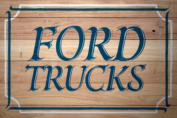 O Lettering de Jackson Alves para Ford Caminhões