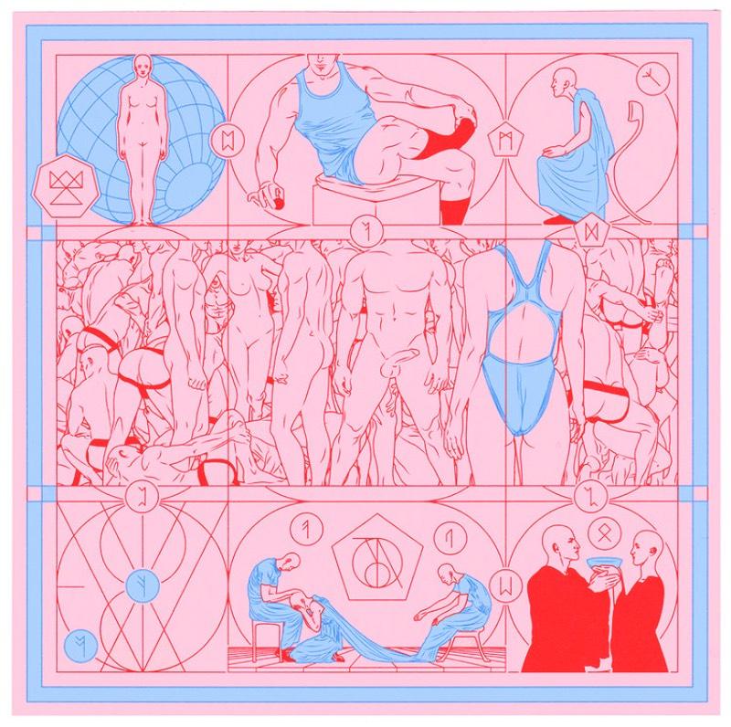 Acredito que uma forma interessante mudar sua perspectiva sobre seu trabalho criativo, seja isso design, ilustração ou fotografia, é começar a usar novas técnicas e experimentar. E foi isso que Berke Yazicioglu fez quando começou a criar uma série de tapeçarias para Sagração da Primavera, um balé composto por Igor Stravinsky.