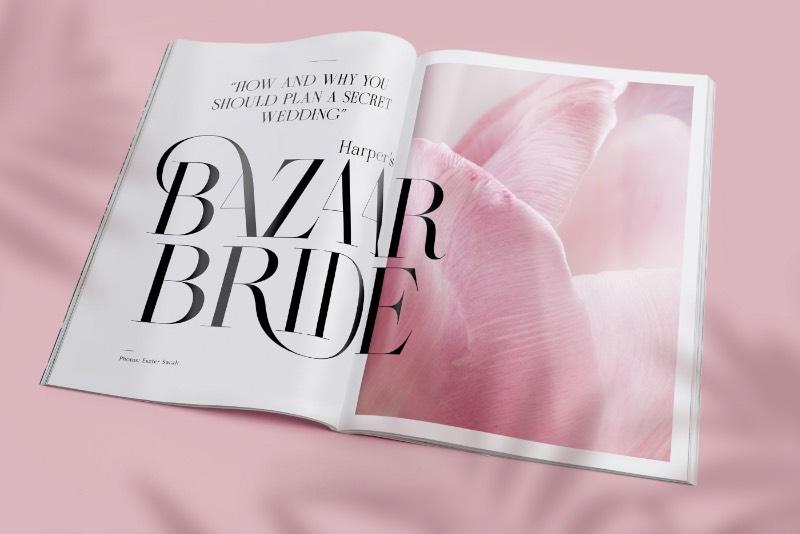Enquanto todo esse processo de design estava sendo colocado em prática, Miklós Kiss acabou criando uma fonte, inspirada na belíssima e clássica Didot. Ela foi batizada de Masqué e acabou sendo utilizada em grande parte do projeto de redesign da Harper's Bazaar e você pode ver mais detalhes desse projeto nesse artigo.