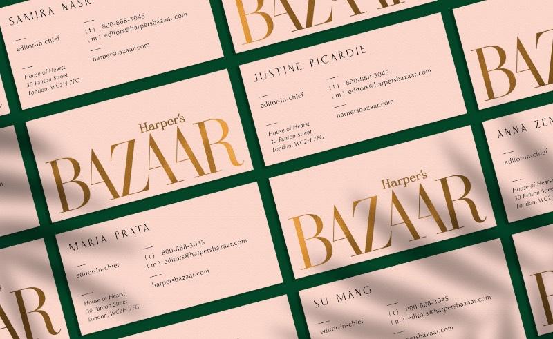 A Harper's Bazaar é uma revista voltada para o público feminino. Veiculado nos Estados Unidos desde novembro de 1867, essa é uma das maiores referências no mercado de moda. Quando Miklós Kiss estava estudando design na Academia de Belas Artes, ele se deparou com algumas edições antigas da revista e adorou passar alguns momentos folheando esses materiais.
