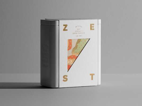 Café Zest no design do Pop & Pac Studio